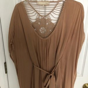 Cute fall boutique blouse never worn